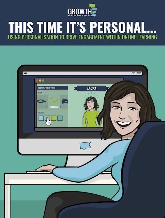 Free Ebook: This Time It's Personal… Using Personalisation To Drive Engagement Within Online Learning