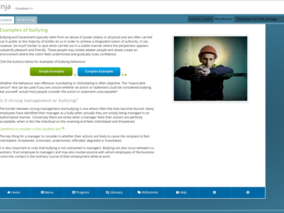 Screenshot of CourseSuite Preview Ninja
