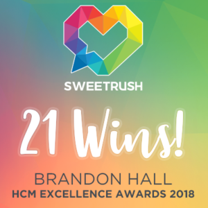 SweetRush Wins 21 Awards At 2018 Brandon Hall Excellence Awards