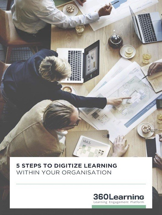 Free Ebook: 5 Steps To Digitize Learning Within Your Organization