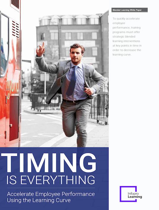 Timing Is Everything: Accelerate Employee Performance Using The Learning Curve