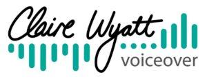 Claire Wyatt Voiceover logo