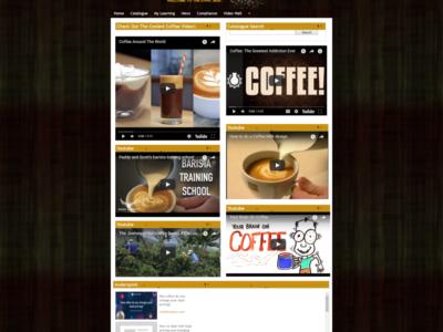 Screenshot of Lumesse Learning Gateway