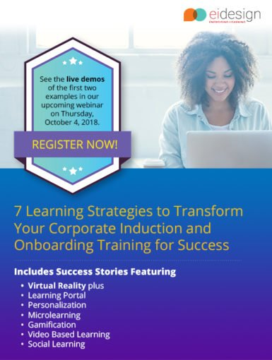 7 Learning Strategies To Transform Your Corporate Induction And Onboarding Training For Success