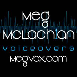 Meg McLachlan Voiceovers logo