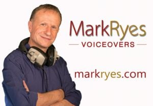 Mark Ryes Voiceovers logo