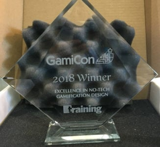 Gamification Nation Wins Award For Excellence In Gamification Design