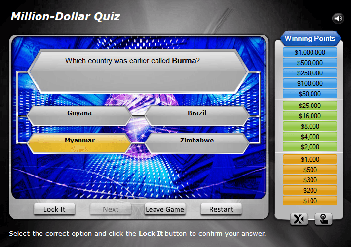 Million Dollar Quiz