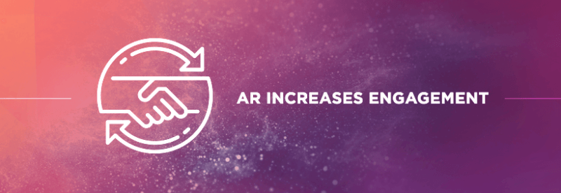2. AR Captivates Audiences, Which Increases Engagement