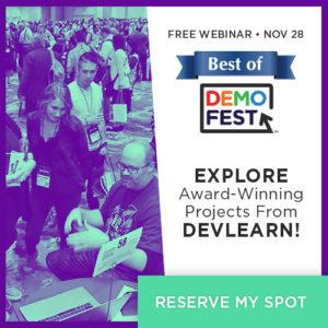 Best Of DemoFest 2018: Award-Winning eLearning In Action