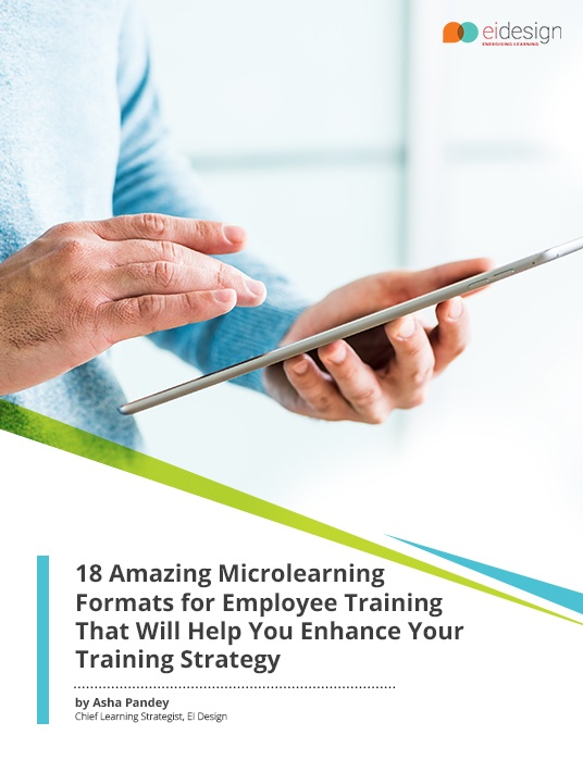 Free Ebook: 18 Amazing Microlearning Formats For Employee Training That Will Help You Enhance Your Training Strategy