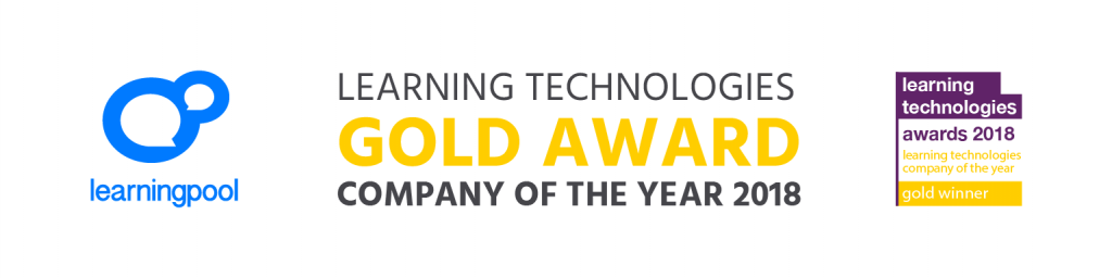Double Gold For Learning Pool In Learning Technologies Awards 2018