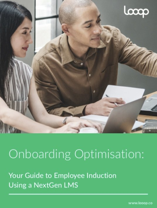 Free Ebook: Onboarding Optimisation: Your Guide To Employee Induction Using A NextGen LMS
