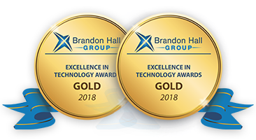 iSpring Wins Two Gold Brandon Hall Group Excellence Awards In Technology logo