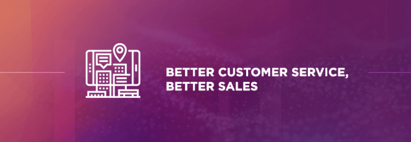 Better customer services better sales
