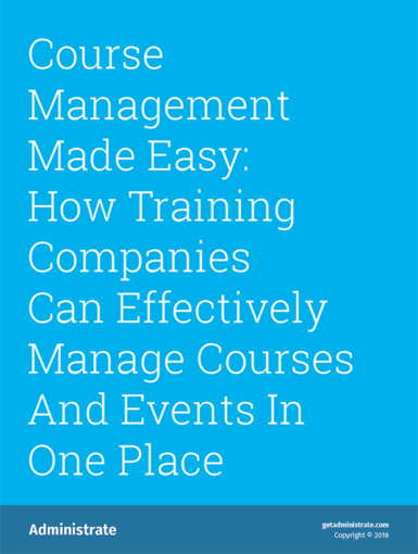Course Management Made Easy: How Training Companies Can Effectively Manage Courses And Events In One Place
