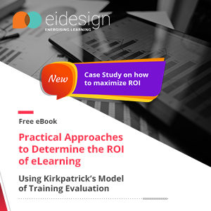EI Design Hosts A Successful Webinar On Practical Approaches To Determine The ROI Of eLearning And Releases An Updated eBook On The Same Topic Featuring A Case Study image