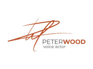 Peter Wood Voiceovers logo