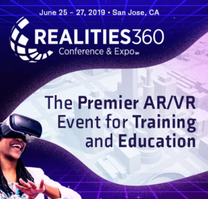 2019 Realities360 Pre-Conference Workshops