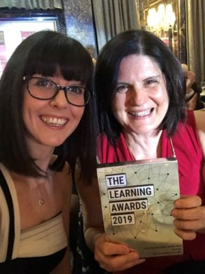 Sponge Named Learning Provider Of The Year At Learning Awards 2019