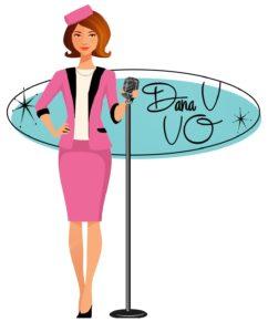 Dana Vanhoy Voiceover logo