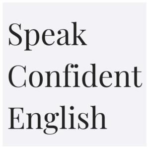 Speak Confident English logo