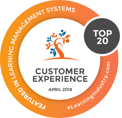 Customer Experience Badge April 2018