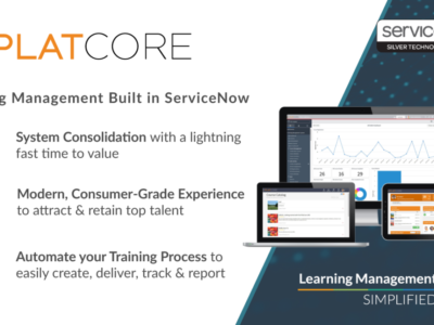 Screenshot of PlatCore LMS