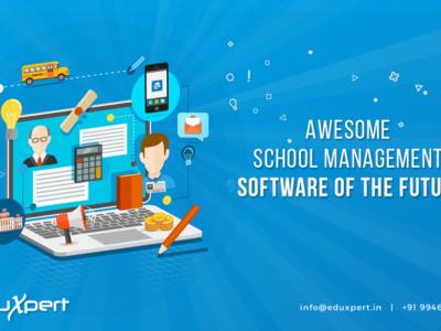Screenshot of Eduxpert School management software
