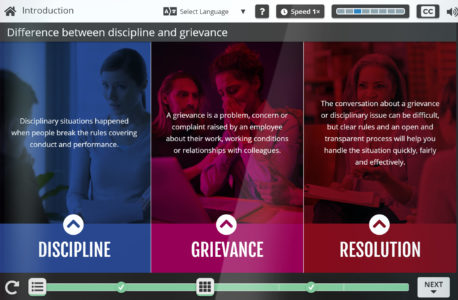 Engage In Learning Launches A Discipline And Grievance eLearning Course