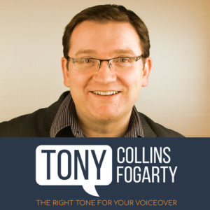 British Voice - Tony Collins Fogarty logo