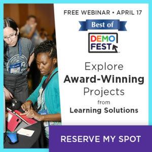 Best Of DemoFest 2019: Award-Winning eLearning In Action