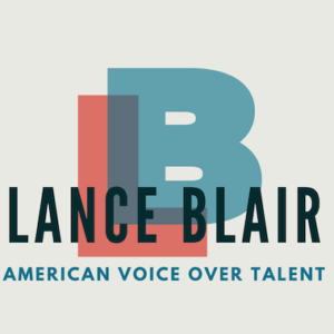 American Voice Over Talent Lance Blair logo