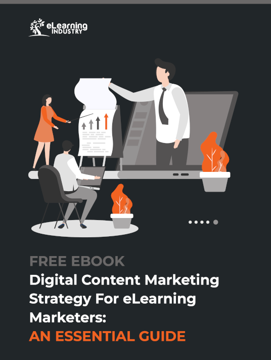 Free Ebook: Digital Content Marketing Strategy For eLearning Marketers: An Essential Guide