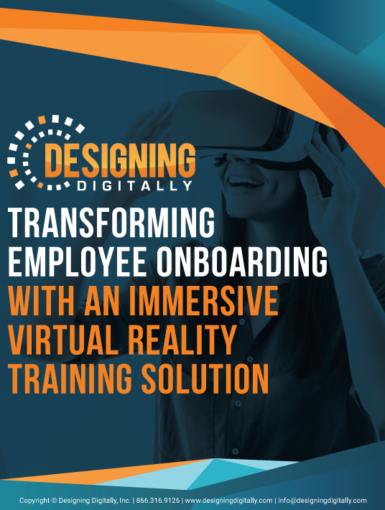 Transforming Employee Onboarding With An Immersive Virtual Reality Training Solution