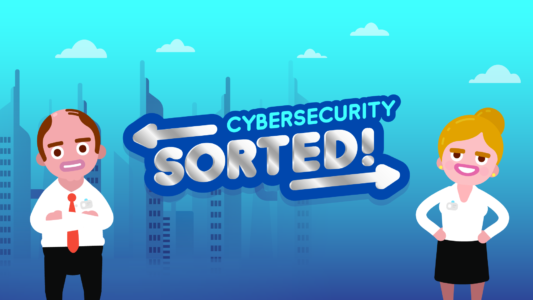 Cybersecurity Sorted - A New Digital Learning Game From Sponge