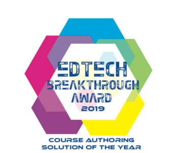 "Lectora Named EdTech Breakthrough's ""Course Authoring Solution Of The Year"""