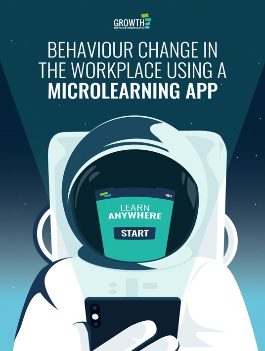 Behaviour Change In The Workplace Using A Microlearning App