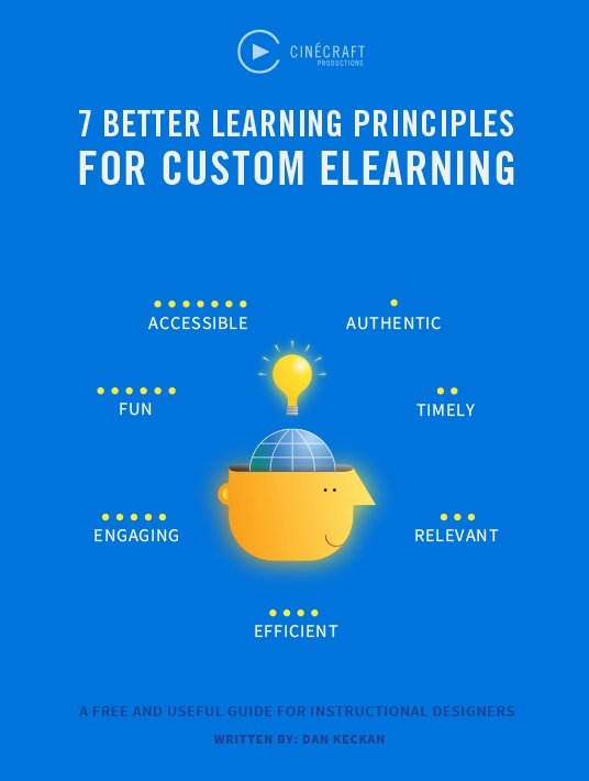 Free Ebook: 7 Better Learning Principles For Custom eLearning