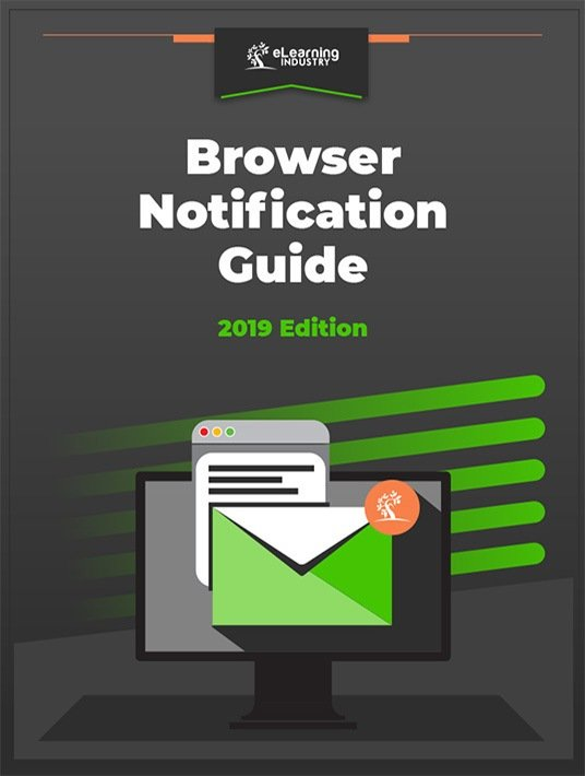 Free Ebook: Complete Browser Notifications Guide For eLearning Companies
