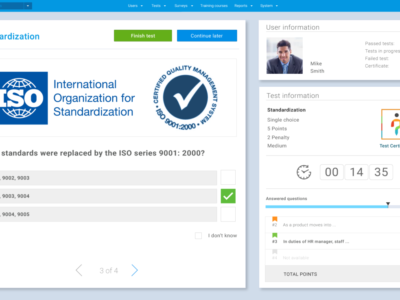 Screenshot of YouTestMe GetCertified