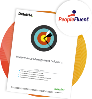 PeopleFluent Recognized In Performance Management Solutions Report