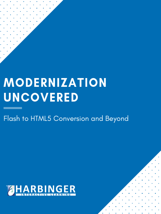 Free Ebook: Modernization Uncovered: Flash To HTML5 And Beyond