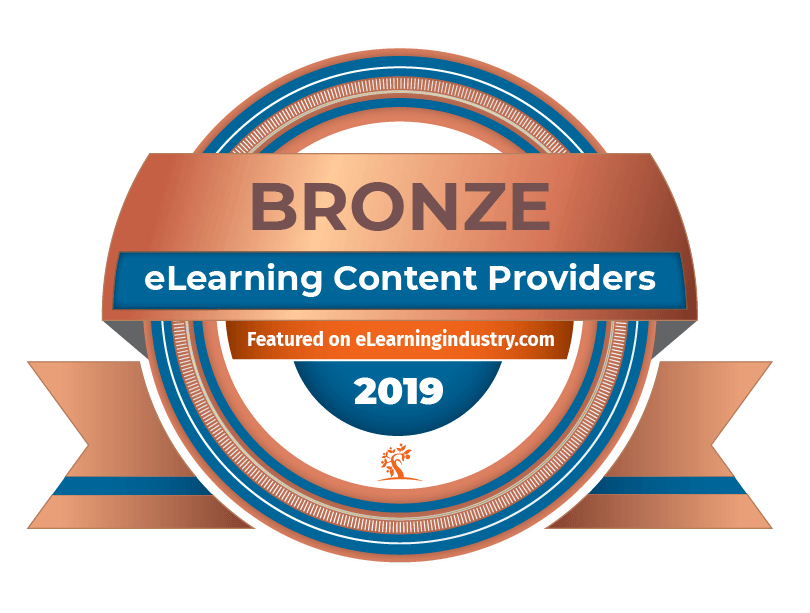 top-elearning-content-development-companies-update-2019 Bronze