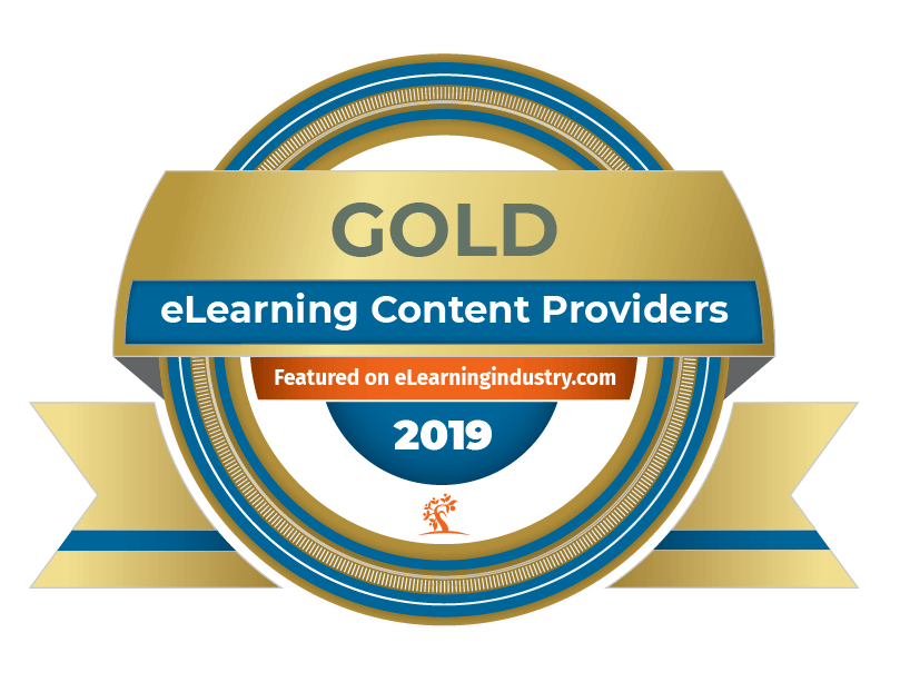 top-elearning-content-development-companies-update-2019 Gold