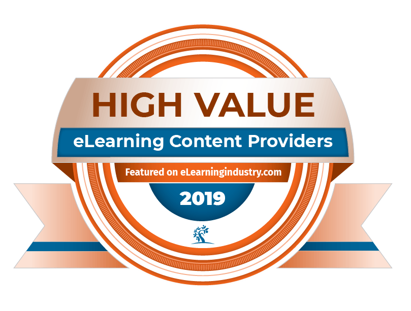 top-elearning-content-development-companies-update-2019 High Value