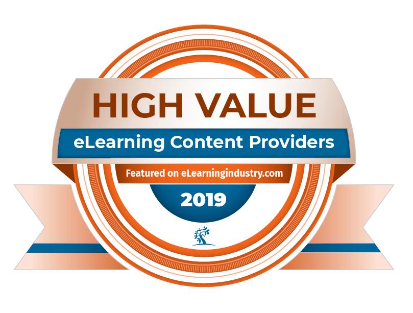top-elearning-content-development-companies-update-2019 High Value