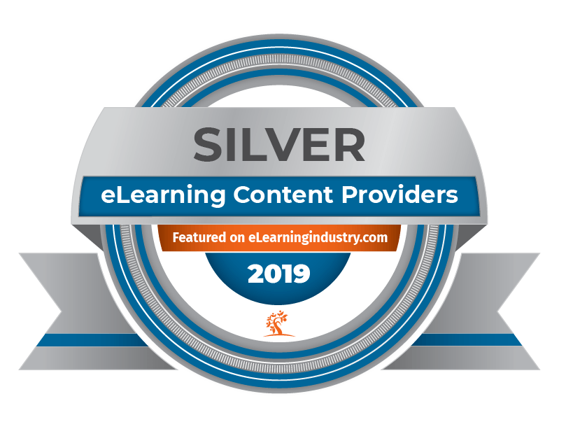 top-elearning-content-development-companies-update-2019 Silver