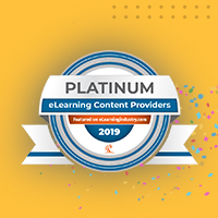 EI Design Wins The Top Rank—Platinum In The List Of Top eLearning Content Development Companies For 2019