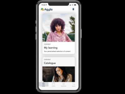 Screenshot of Agylia